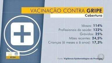 Vacinação contra a gripe entra na última etapa - Serão vacinados professores e pessoas entre 55 e 59 anos.