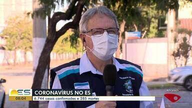 ES tem 6.744 casos confirmados e 285 mortes por coronavírus - O subsecretário de Vigilância em Saúde, Luiz Carlos Reblin, fala sobre o assunto.