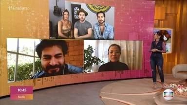 Fátima revela tudo o que vai acontecer no 'Encontro' de hoje - Ana Claudia Aranates, Banda Melim e Thiago Lacerda são os convidados do dia