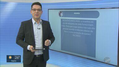 Telespectadores enviam mensagens para o EPTV1 - Para participar, basta enviar sua mensagem com #EPTV1 no Twitter.