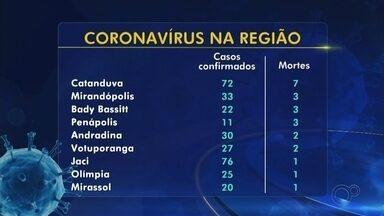 Rio Preto tem a 15ª morte por coronavírus e chega a 455 casos - São José do Rio Preto (SP) confirmou na manhã desta segunda-feira (18) mais uma morte por coronavírus, chegando a 15 no total. A cidade também somou mais 17 casos positivos, chegando a 455.