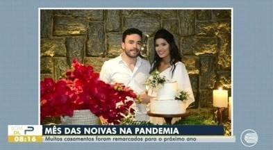 Casamentos do mês das noivas são remarcados por conta da pandemia - Casamentos do mês das noivas são remarcados por conta da pandemia