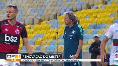 GE no DF1: Jesus perto da renovação com o Flamengo e gols do Campeonato Alemão - GE no DF1: Jesus perto da renovação com o Flamengo e gols do Campeonato Alemão