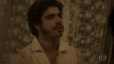 Dom Pedro culpa Avilez pela morte de João Carlos - O príncipe promete se vingar do rival. Peter e Leopoldina tentam acalmar Pedro