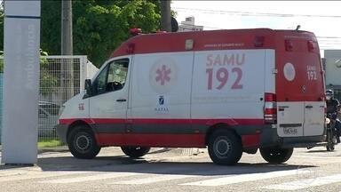 Hospital de referência para Covid-19 em Natal fecha as portas do pronto-socorro - Todos os leitos de UTI e até os leitos clínicos de enfermaria estão ocupados no Hospital Giselda Trigueiro.