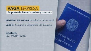 Confira vagas de emprego para Goiás - Empresa contrata gerente de produção, serralheiro e serviços gerais.