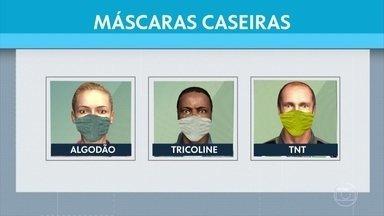 Aprenda como fazer sua máscara em casa - De um jeito rápido e barato, veja como se proteger do novo coronavírus.