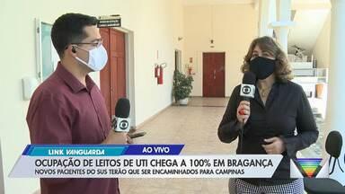 Bragança Paulista registra 100% de ocupação de UTIs no sistema público - Novos casos serão encaminhados para Campinas