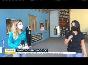 Associação oferece plantão psicológico em Ipatinga - Objetivo da iniciativa é cuidar da saúde mental em tempos de pandemia.