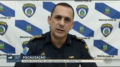 Guarda Municipal esclarece sobre aglomerações em Ribeirão Preto, SP - Telespectadores enviam denúncias sobre moradores que não respeitaram o isolamento social.