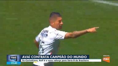Avaí contrata jogador campeão mundial com o Corinthians - Avaí contrata jogador campeão mundial com o Corinthians