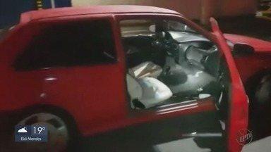 Menores furtam carro, tentam atropelar policiais e são baleados em Poços de Caldas - Menores furtam carro, tentam atropelar policiais e são baleados em Poços de Caldas