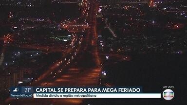 SP2 - Edição de terça-feira, 19/05/2020 - Covid-19 já matou mais de 5 mil pessoas em São Paulo e o estado registra quase 66 mil casos confirmados da doença. Capital se prepara para mega feriado.