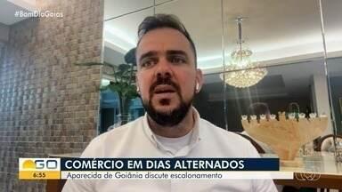 Aparecida de Goiânia discute abertura do comércio em dias alternados - Nova fórmula de escalonamento é tema de projeto.
