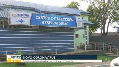 Segundo paciente com covid-19 morre em Ariquemes - Paciente estava entubada na UTI.