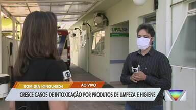 Cresce casos de intoxicação por produtos de limpeza - Médico do Samu faz alerta.