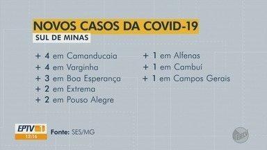 Estado confirma 2ª morte em Lavras e outros 24 casos de Covid-19 no Sul de Minas - Veja atualizações dos números da SES-MG