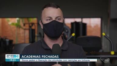 Donos de academias pedem a liberação da atividade durante pandemia em Linhares, ES - Câmara do município incluiu estabelecimentos entre as atividades essenciais.