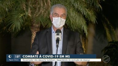Governador de MS fala sobre combate a covid-19, auxílio da União e previdência - Governador de MS fala sobre combate a covid-19, auxílio da União e previdência