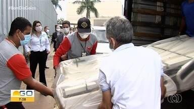 Empesa doa equipamentos para ajudar no tratamento da Covid-19 em São Luis de Montes Belos - undefined