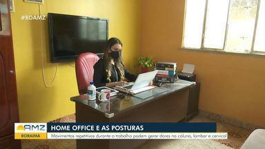 Home office e posturas: movimentos podem causar dor nas costas e coluna - Home office e posturas: movimentos podem causar dor nas costas e coluna