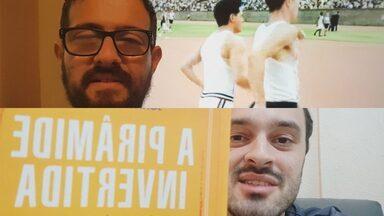 Bruno Ribeiro e Raphael Lemos indicam filme e livro para o fim de semana - Repórter e editor do GloboEsporte.com dão dica de filme sobre atleta durante a guerra e livro que conta a história da tática no futebol