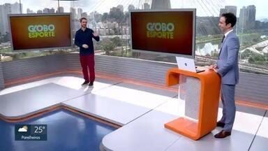 Veja o bloco do Globo Esporte no SP1 de quinta-feira, 21/05/2020 - Veja o bloco do Globo Esporte no SP1 de quinta-feira, 21/05/2020
