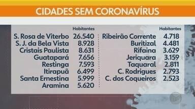 Na região de Ribeirão Preto, 15 cidades não registram casos de coronavírus - Médico infectologista avalia sobre possível liberação gradual do comércio.