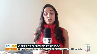 PF investiga organização criminosa que desviava recursos da Previdência Social - Além de Minas Gerais, a operação é realizada em Tocantins e Distrito Federal.