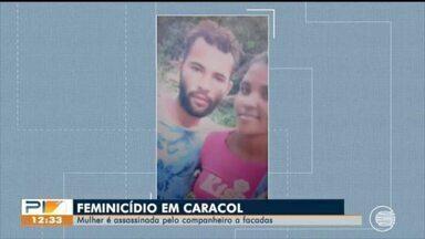 Mulher é assassinada a facadas em Caracol e polícia suspeita de feminicídio - Mulher é assassinada a facadas em Caracol e polícia suspeita de feminicídio