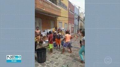Incêndio atinge abrigo de imigrantes venezuelanos e deixa um ferido - Acidente aconteceu no Centro da cidade