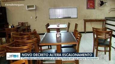 Consultórios médicos passam a abrir no horário em que sempre funcionaram em Goiânia - Novo decreto alterou horários do escalonamento.
