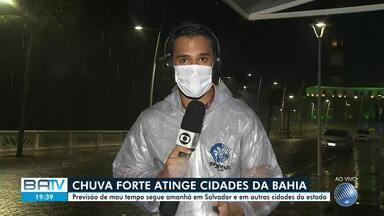 Previsão de chuva em Salvador e interior do estado na sexta-feira - Confira.