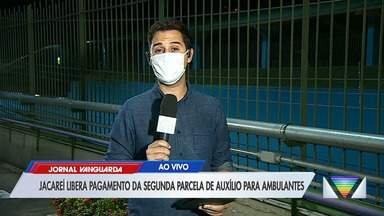 Jacareí libera segunda parcela do auxílio para ambulantes da cidade - Confira reportagem do Jornal Vanguarda desta quinta-feira (21).