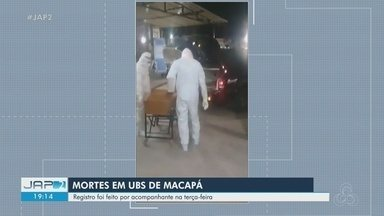 Imagens mostram corpo de vítima do novo coronavírus sendo retirado de UBS - Registro foi feito por um acompanhante na Unidade Básica de Saúde Lélio Silva.