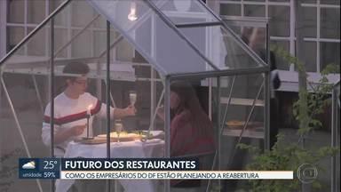 Qual vai ser o futuro dos restaurantes no DF? - Enquanto esperam a definição de regras pelo governo, empresários se preparam por conta própria.