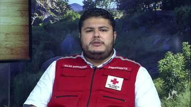 O trabalho da Cruz Vermelha do Ceará na pandemia - Saiba mais no g1.com.br/ce