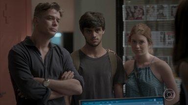 Jonatas revela armação de Cassandra para dopar Eliza - Arthur faz a denúncia de sabotagem para Carolina