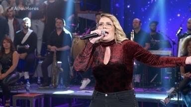 Marília canta 'Bebi Liguei' - Confira a apresentação da cantora