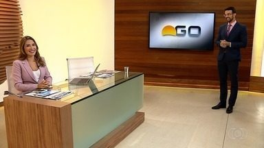 Confira os destaques do Bom Dia Goiás de segunda-feira (25) - Goiás chega a 2.443 casos confirmados e 95 mortes por coronavírus, diz governo.