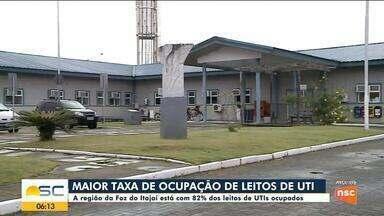 Hospitais Santa Isabel e Santo Antônio ganham novos leitos de UTI em Blumenau - Hospitais Santa Isabel e Santo Antônio ganham novos leitos de UTI em Blumenau