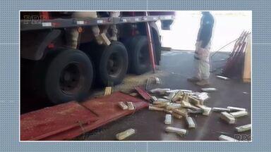 Umuarama na rota do contrabando - Nesta semana, PM apreendeu 8 carros preparados para o crime.