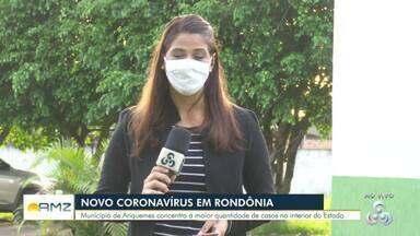 Ariquemes é o segundo município de RO com mais casos de Covid-19 - Número de casos e mortes saltou na última semana, segundo a Secretaria Estadual de Saúde.