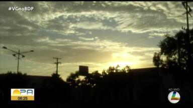 Confira a previsão do tempo em Belém e no interior do Pará nesta segunda-feira, 25 - Previsão do tempo.