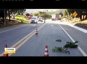 Homem de 51 anos morre após ser atropelado em viaduto, na BR-116, próximo a Ubaporanga - De acordo com as pessoas que passaram pelo trecho, o motorista tentou desviar do pedestre, mas não conseguiu evitar o acidente. O corpo da vítima foi encaminhado para o IML de Caratinga.