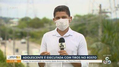 Em Manaus, adolescente é executada com tiros no rosto - Corpo foi encontrado na manhã deste domingo.