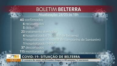 Aumento no número de casos em Belterra preocupa autoridades - No município, são 40 casos confirmados da doença e 5 mortes.