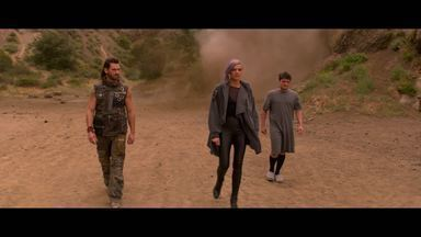 J1: Dia do Julgamento - Josh, Tiger e Wolf tentam encontrar o Dispositivo de Viagem no Tempo (DVT). Josh descobre que tem um clone em 2162. Athena escapa com o DVT, e Tiger promete caçá-la sozinha.
