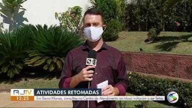Consultas no Centro de Atendimento ao Idoso voltam a ser feitas em Barra Mansa - Serviço foi retomado nesta terça-feira e segue as recomendações de saúde.