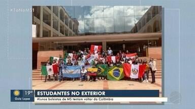 Estudantes de MS pedem ajuda para voltar da Colômbia - Eles ficaram isolados no país vizinho durante a pandemia da COVID-19